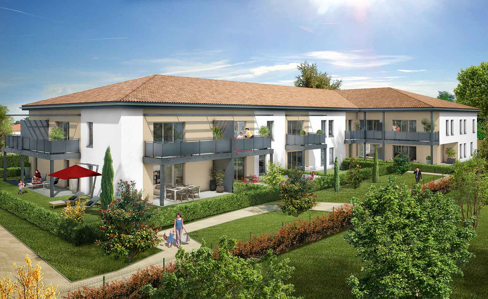 R sidence galice immobilier neuf escalquens carrere for Residence immobilier