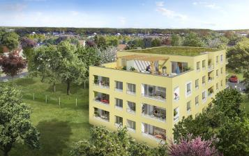residence aquarelle petit couronne-investir appartement neuf rouen-investissement pinel normandie