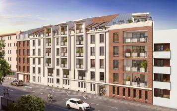 vue residence globale les deux rives - immobilier neuf nancy