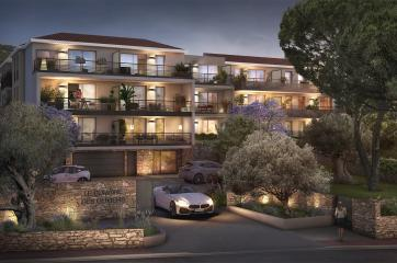 residence domaine des oliviers carrere-acheter appartement neuf toulon-investissement pinel toulon