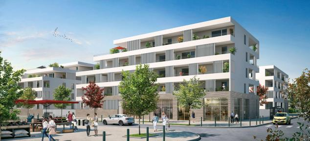 residence les maraichers – toulouse- metro- place micoulaud- terrasse- logements neuf- investissement